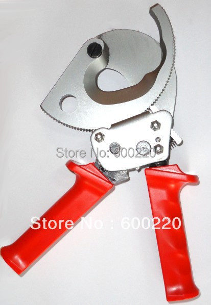 Ratchet Cable Cutter HS-500B, cable cutting tool for Copper Aluminum cables 400mm2 max xkai 14pcs 6 19mm ratchet spanner combination wrench a set of keys ratchet skate tool ratchet handle chrome vanadium