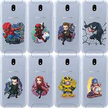 Miracle Avengers Iron Man Jorker Dead Pool Spiderman Fashion Silico Phone Case For Samsung GalaxyA30 A50 A10 A20 A40 A70 M10 M20