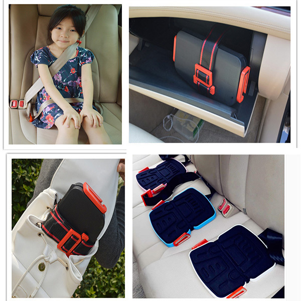 Children Booster Car Seat Foldable Pocket Baby Car Seat Light Weight