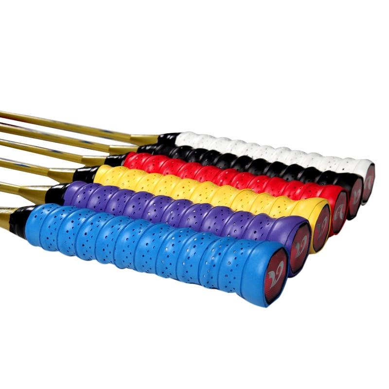 Prix pour 10 pcs/lot anti-slip respirant sport plus grip sweat bande griffband De Tennis surgrip bande Badminton raquette poignées bandeau