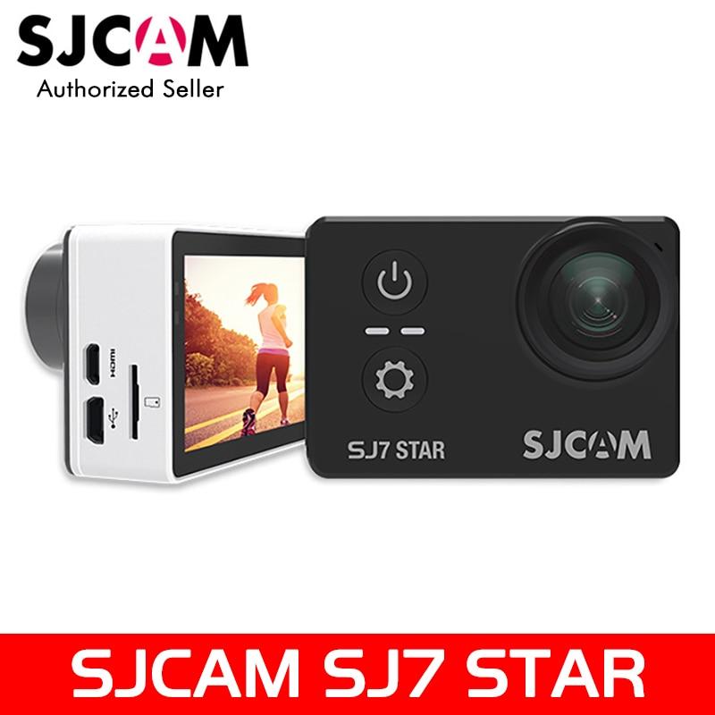 Original SJCAM SJ7 Star 4K 30fps 2.0 Touch Screen Remote Ultra HD Ambarella A12S75 30M Waterproof Sports Action Camera Car DVR