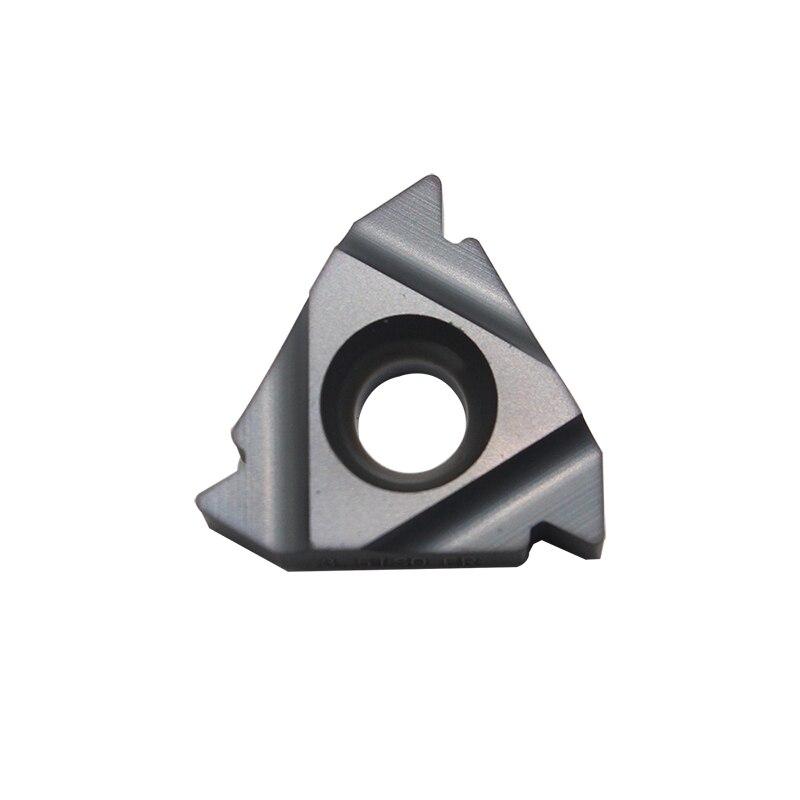 10PCS 22 ER 3.5 ISO LDA PVD CNC cutting blade carbide insert internal thread insert цена