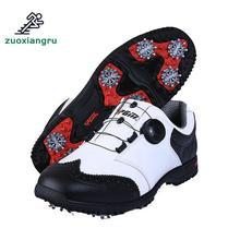 Mens Scarpe Da Golf di Vendita Calda Pgm Stile di Stampa Stereoscopica  Scarpe Da Golf Maschio High-end Scarpe Sportive Super Imp.. b51dbd73ea3