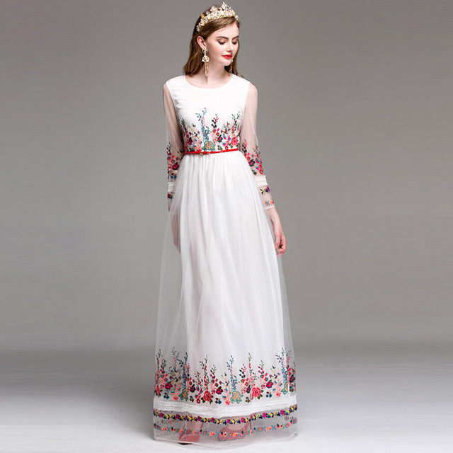 Women Floor Length Party Dress