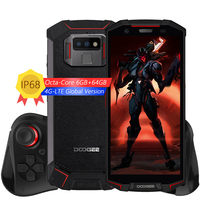 DOOGEE S70 Game Phone IP68 Waterproof Helio P23 Octa Core 6GB+64GB Android 8.1 Wireless Charge NFC 5500mAh 5.99 Inch Smartphone