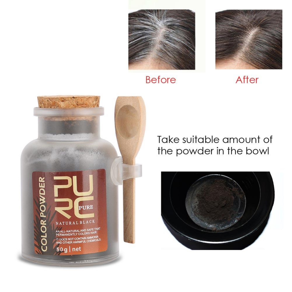 50g Hair Color For Men Women Natural Ingredients Hair Coloring
