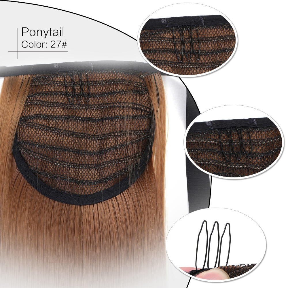 Hair Care & Styling Reasonable Neitsi Straight Long Clip In Hair Tail False Hair Ponytail Hairpiece With Hairpins Synthetic Hair 27# Be Novel In Design