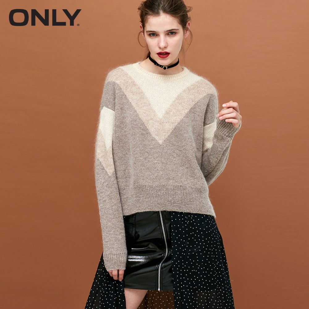 Image 2 - ONLY Women's Metal Wire Assorted Colors Knitted Pullover Sweater118324556-in Pullovers from Women's Clothing