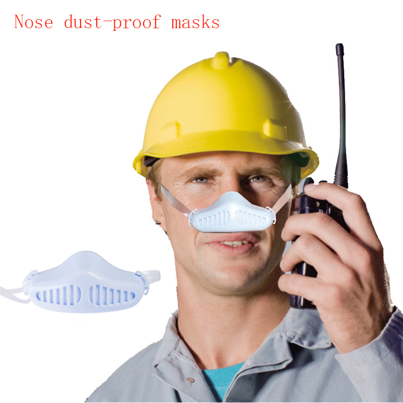 New Pm2.5 Dust Haze Anti-haze Masks Nen And Women Industrial Dust Personality Polished Renovation breathable Nasal Mask woodyknows ultra breathable nasal filters 2nd gen nose masks anti pollen allergies dust pet dander allergy hayfever relief