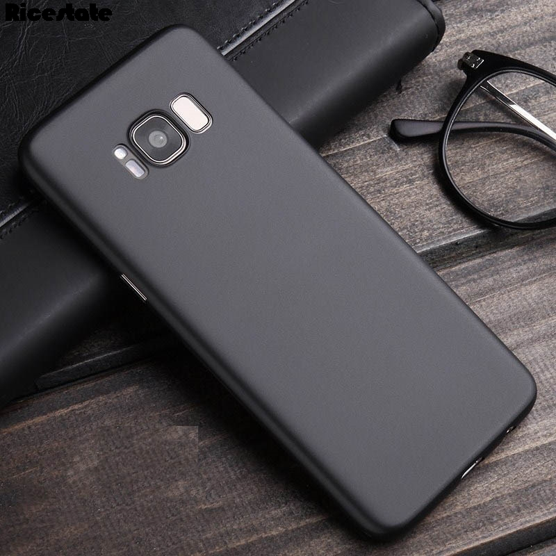 0.3Mm Ultra Thin Samsung Galaxy S8 S9 Plus S6 S7 Edge Note 8 Note 9 Translucent Matte Plastic Back Cover Shell