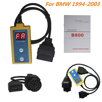 Professional B800 Auto Airbag Scan Reset Tool OBD2 SRS Scanner for BMW E34 Car Diagnostic Tool Auto Repair Tool Parts image
