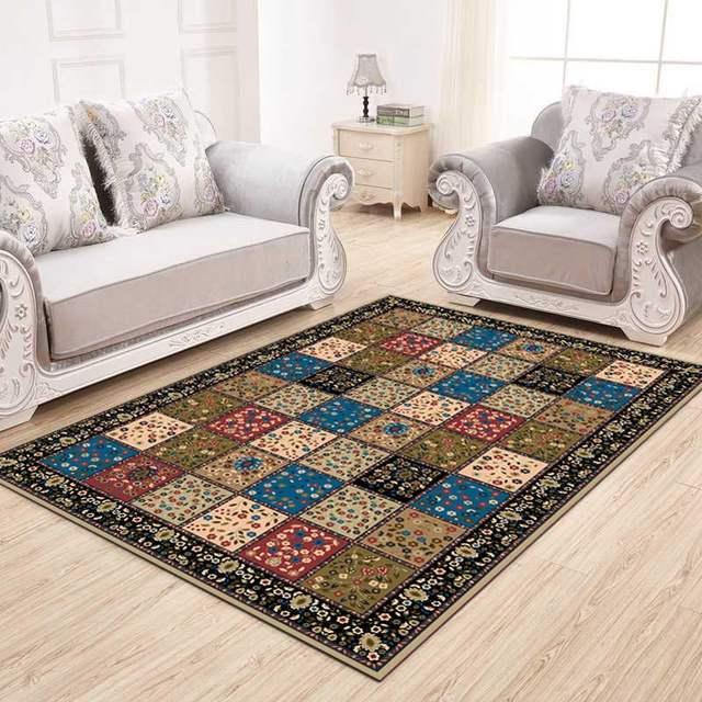 US $7.75 43% OFF|European Carpets For Living Room Anti slip Bedroom Carpets  Bedside Rugs Office Chair Floor Mats Carpets For Children-in Carpet from ...