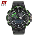 TTLIFE Brand Watch Men Casual Waterproof Sports Military Watches Mens Analog LED Backlight Digital Mens Watches Alarm Luxury