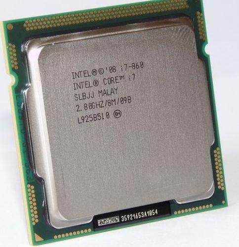 Intel Core i7 860 SLBJJ Quad Core CPU 2 80GHz 8MB Sockel 1156 95W Processor