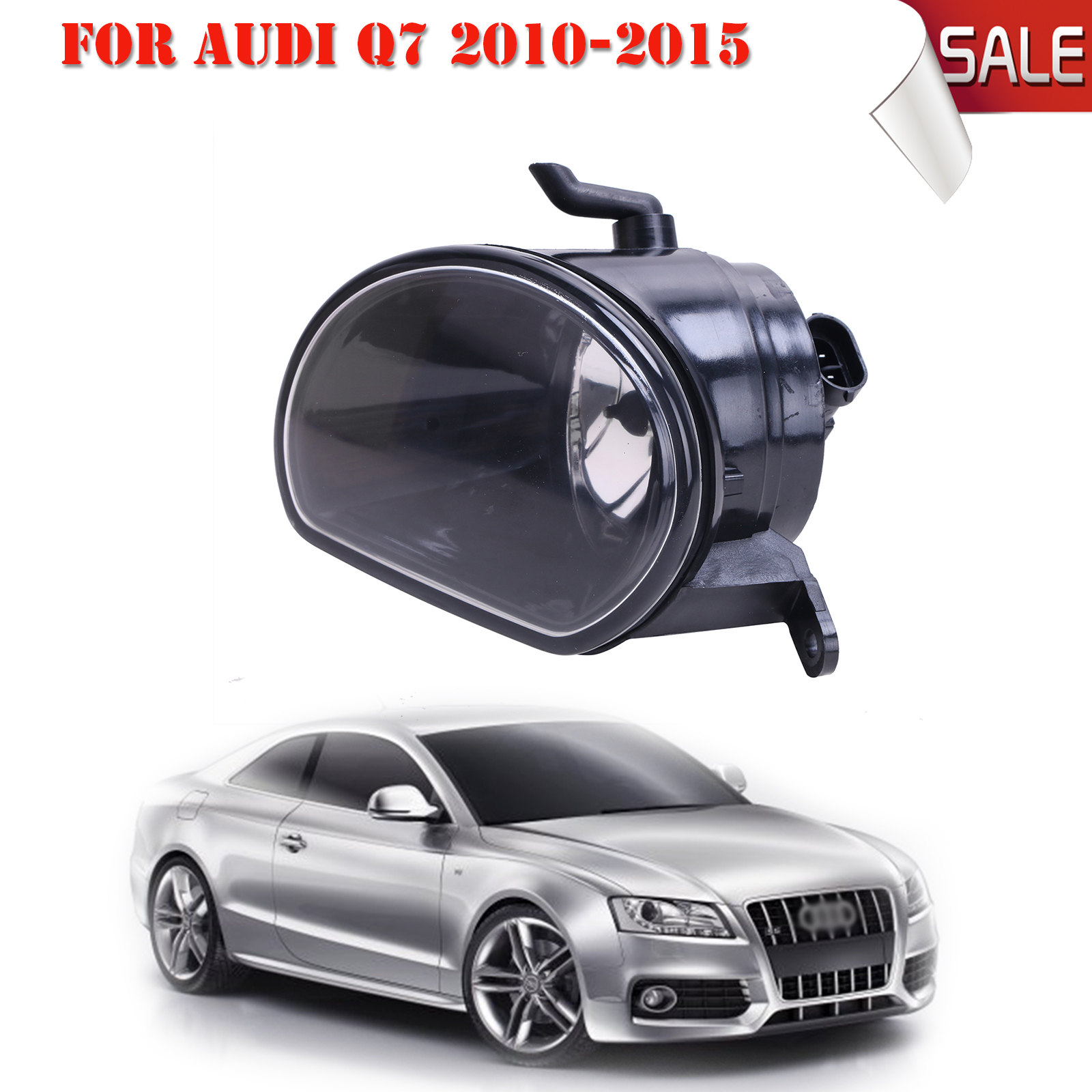 Right Side Front Fog Light Fog Lamp with H11 Bulb For Audi Q7 2010 2011 2012 2013 2014 2015 Car-Styling #P316-R for vw golf 6 gti 2009 2010 2011 jetta 6 gli 2011 2012 2013 2014 new front right halogen new fog lamp fog light car styling