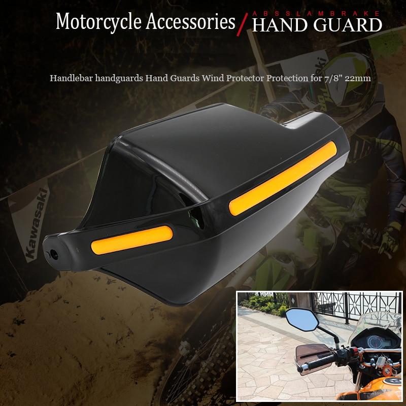 Motorcycle Brush Bar Hand Guards 7/8'' Handguard 22mm ATV Accessories black For Suzuki honda KTM KAWASAKI hand protector guard