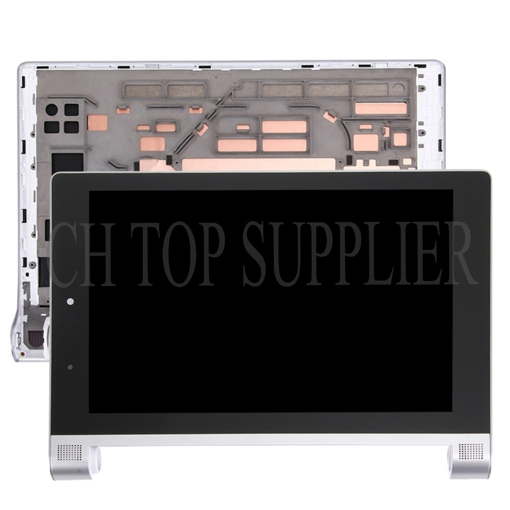 for 8'' Inch Lenovo Yoga Tablet 2 830 830F Touch Screen Digitizer +LCD Display with frame free shipping lcd screen display touch panel digitizer with frame for htc one m9 black or silver or gold free shipping