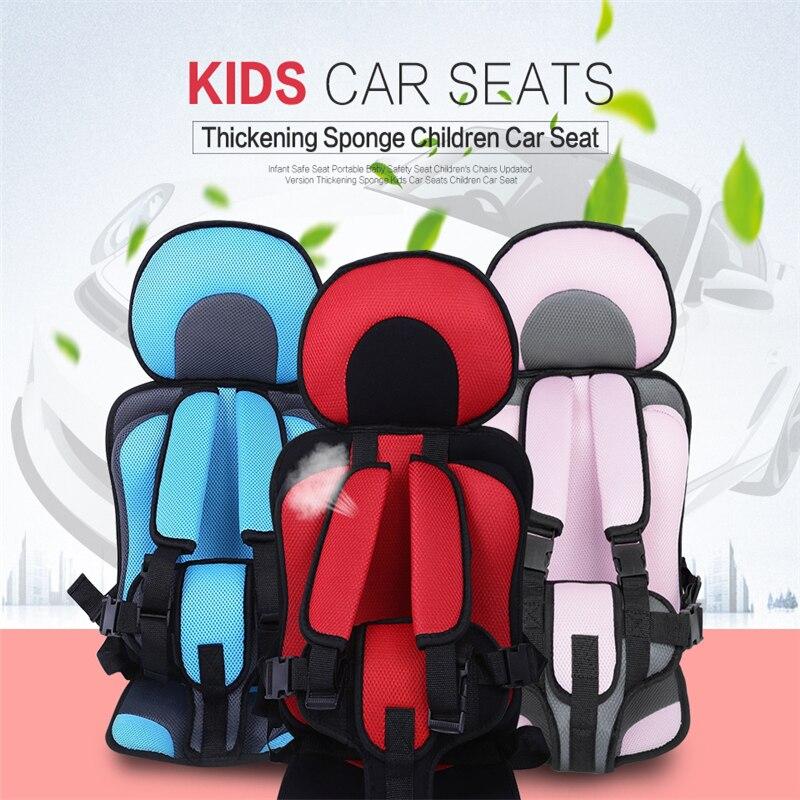 Bambini Seggiolino Auto Bambino Seggiolino di Sicurezza di Sicurezza Del Bambino Portatile Sedile Sedie Per Bambini Versione Aggiornata di Ispessimento Spugna Per Bambini Seggiolini Auto Per Bambini