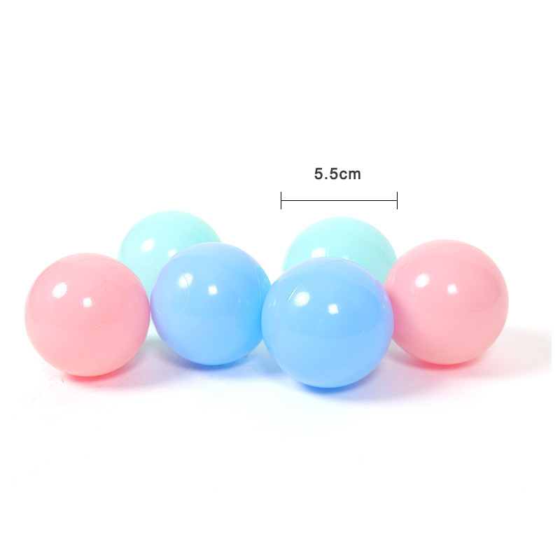 50 100pcs PVC Macaroon Ocean Balls Baby Kid Colorful Pool Sea Ball Toy Children Funny Outdoor Toys Sports Gift in Toy Balls from Toys Hobbies