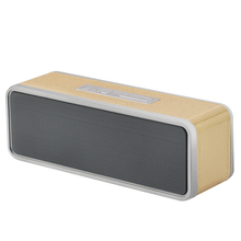 Wireless HIFI Bluetooth Speaker Portable Square Box for Smartphone PC Computer Table With Radio SD Card Player