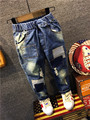 boys Jeans Children Boys Ripped Jeans Kids Fashion Denim Pants Baby Casual Jean Infant Boys Brand Slim Fit Pants Kids Trousers
