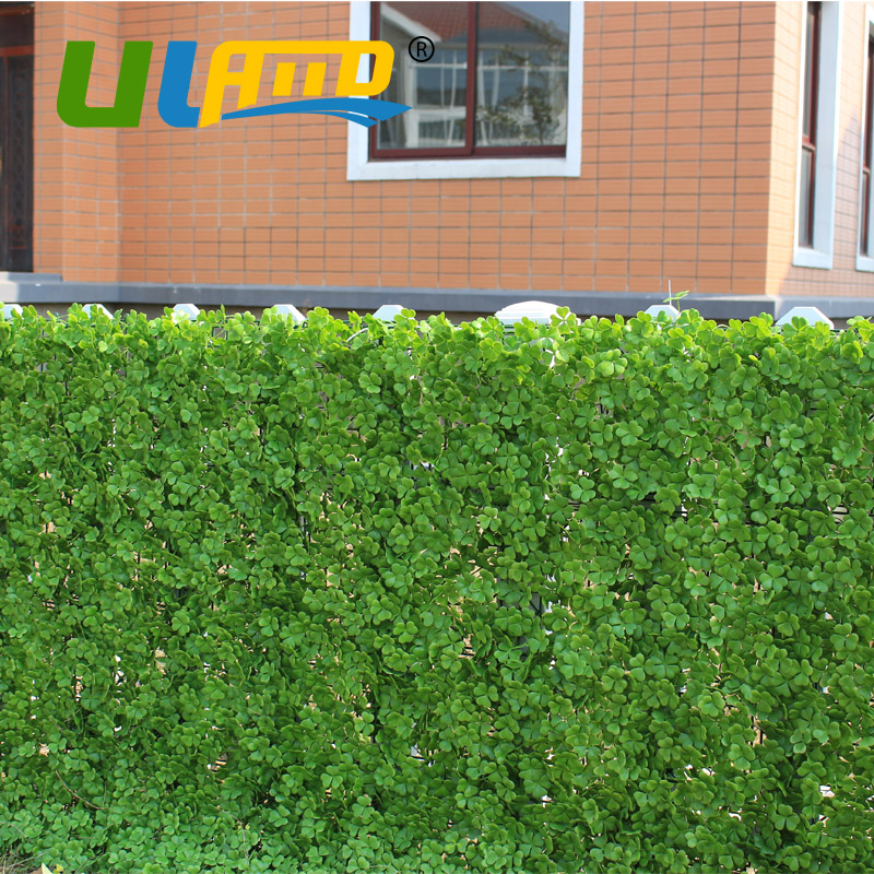 1x1m outdoor artificial shrubs hedge panels uv proof sythenic decorative plants fence privacy plants screening garden