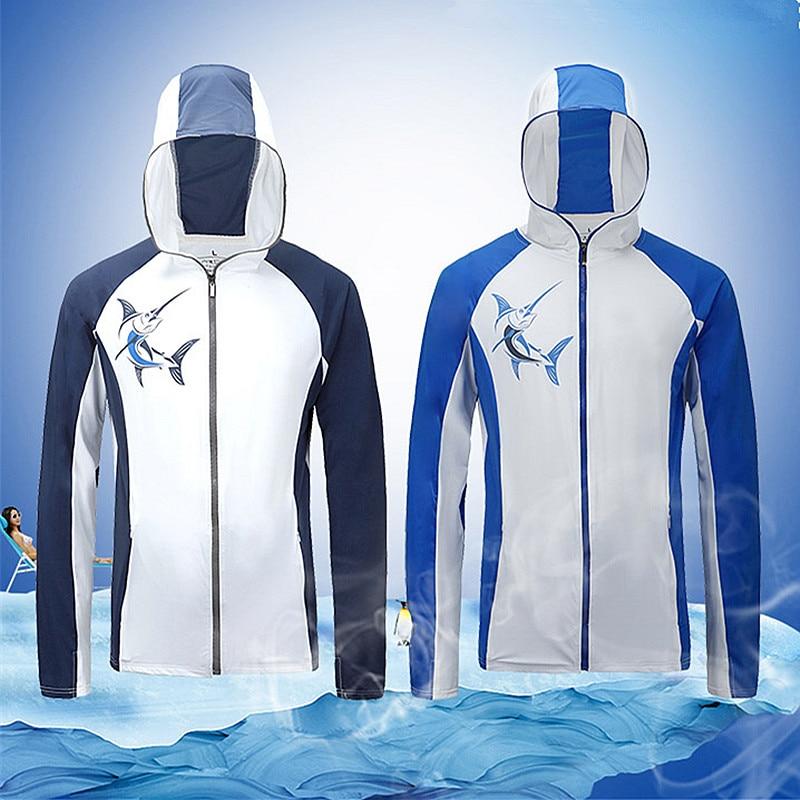 Zomer Heren vissen shirt sportkleding wandelen Klimmen zonwering - Visvangst - Foto 5