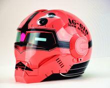 Masei  bike helmet scooter moto red Iron Man motorcycle helmet half helmet open face helmet  motocross security fashion