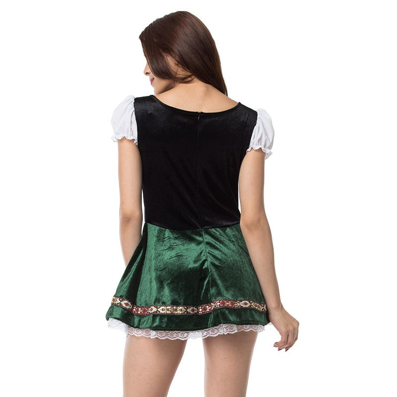 Image 5 - Women Sexy Lace Dress Large Size Halloween Oktoberfest Bar Women Stage Party Dress-in Holidays Costumes from Novelty & Special Use