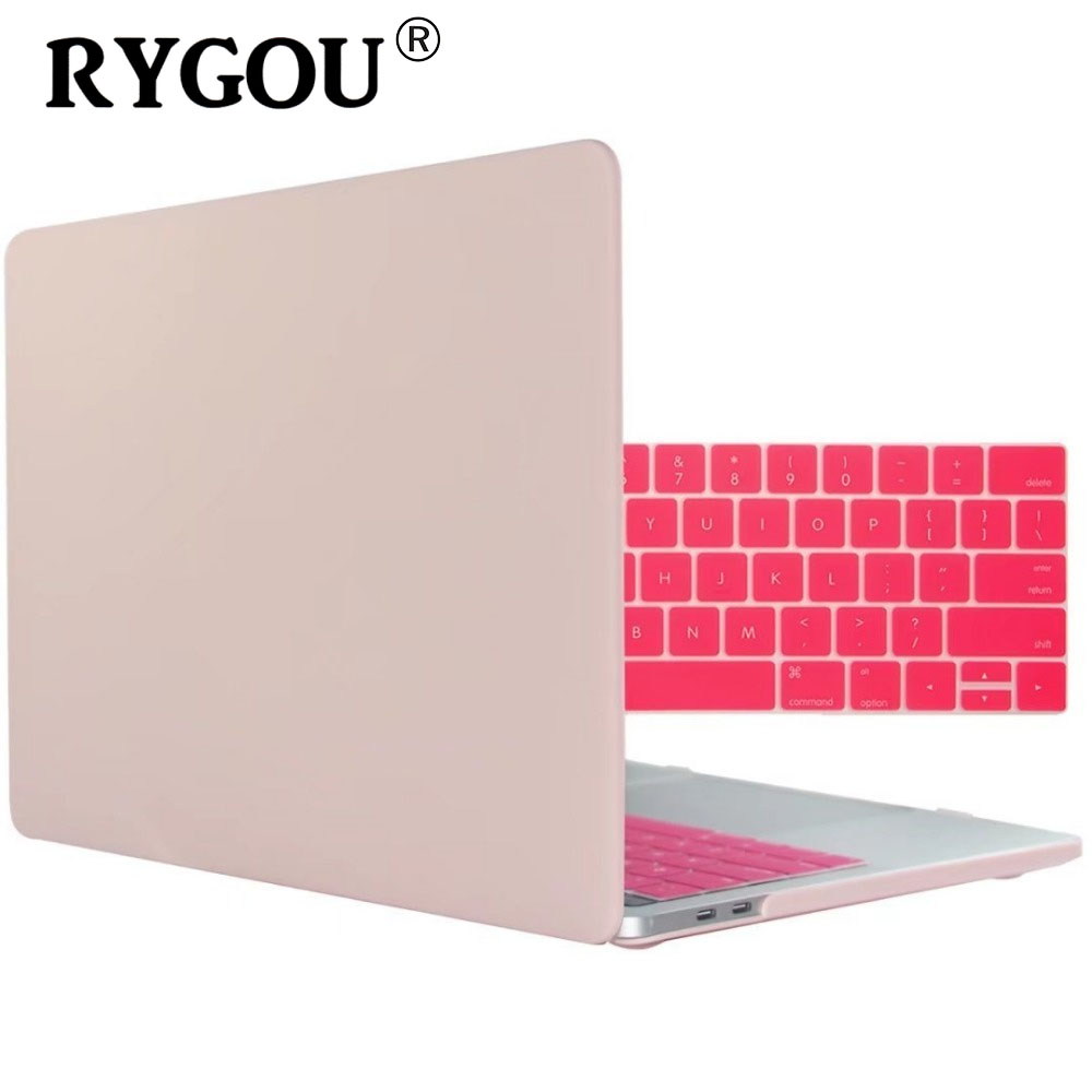 Laptop tas hoesjes voor Apple MacBook Air Pro Retina 11 12 13 15 Case voor nieuwe Mac boek Air 13.3 Pro 13.3 15.4 inch + Keyboard Cover