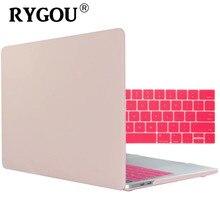 Laptop Case Apple MacBook hava Pro Retina 11 12 13 15 16 için yeni Mac kitap hava 13.3 pro 13.3 15.4 inç + klavye kapak