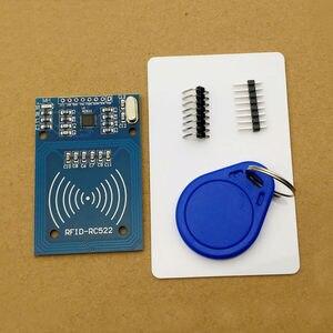 Image 2 - 1 Set MFRC 522 RC 522 RC522 RFID Wireless IC Module S50 Fudan SPI Writer Reader Card Key Chain Sensor Kits 13.56Mhz For Uno