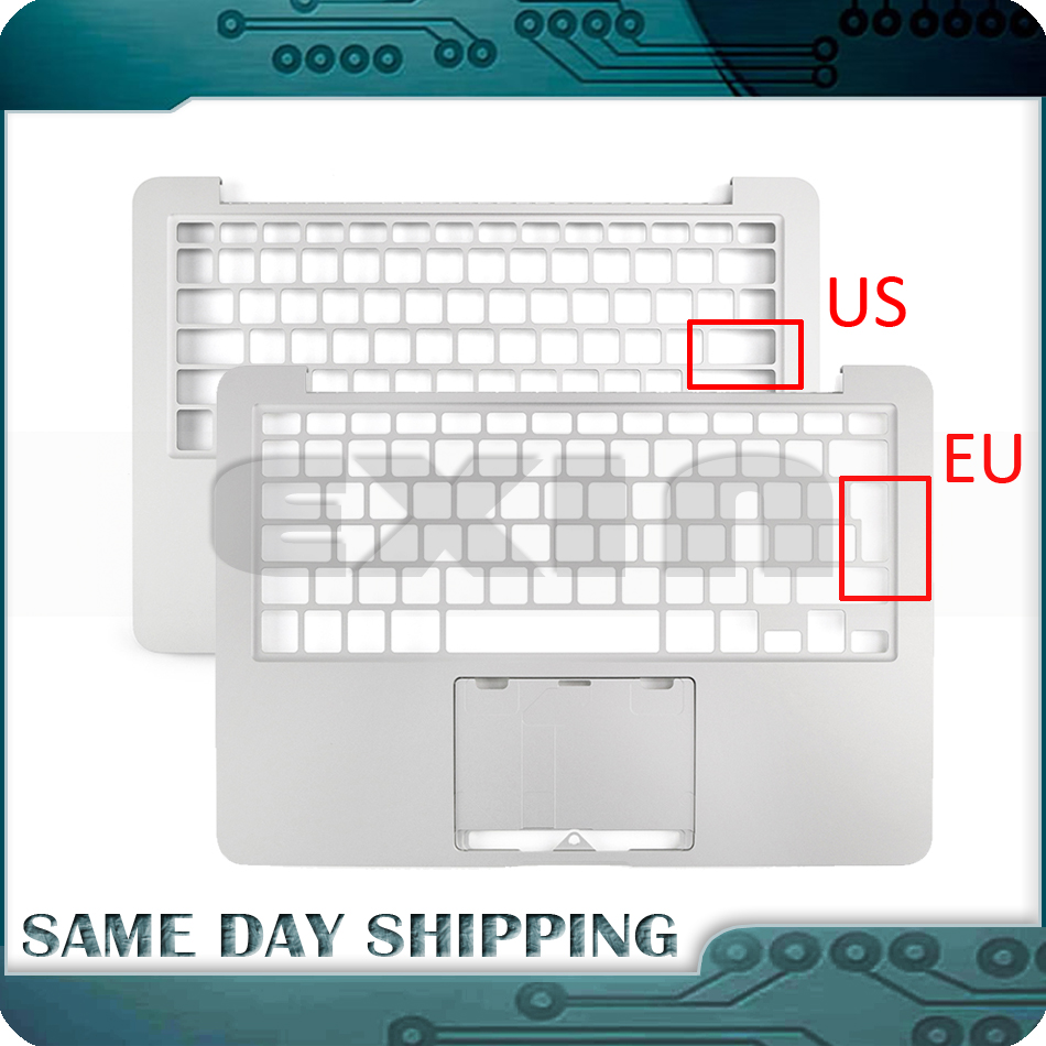 New Laptop A1425 Topcase US UK EU EURO for Macbook Pro Retina 13 A1425 Topcase Palm Rest without Keyboard 2012 2013 MD212 ME662 new topcase with tr turkish turkey keyboard for macbook air 11 6 a1465 2013 2015 years