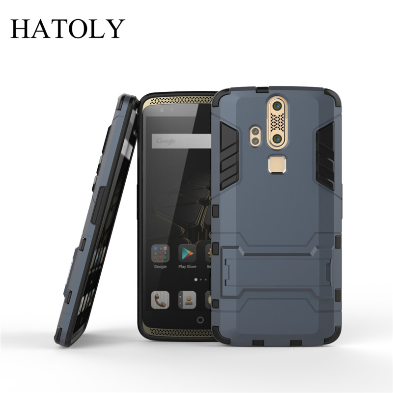 Cover ZTE Axon Elite Case A2015 Rubber Robot Armor Hard Back Phone Case for ZTE Axon Elite Cover for ZTE Axon Elite Case HATOLY