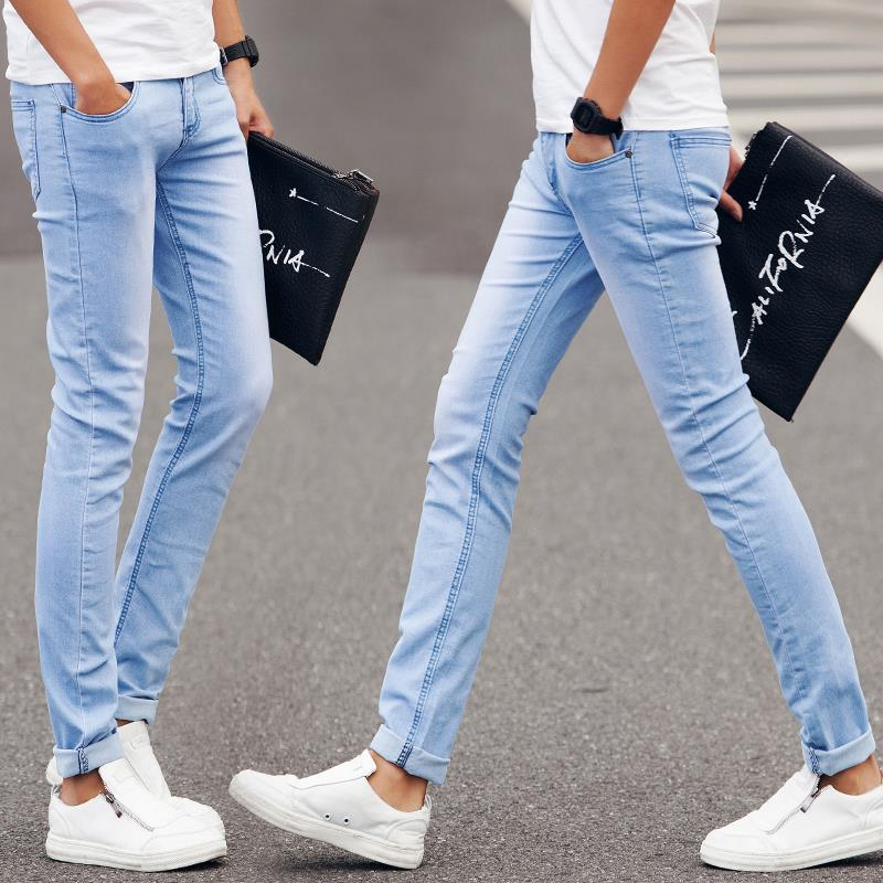 Spring Summer Slim Fit Men Jeans Fitness Skinny Denim Pants Blue Pantalones Vaqueros Hombre Jeans Homme Pantalon Jean Homme Jean Clothes Jeans Monkeyjean Anyon Aliexpress
