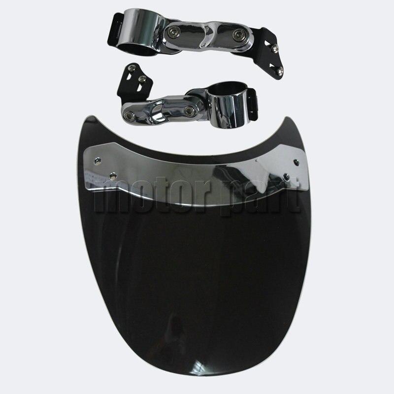 9'' Windscreen For 2004-2009 Honda VTX1300C Shadow Spirit 750 VT750C2 04 05 06 07 08 09 2007 2008 Motorcycle Windshield
