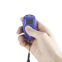 Mini Paint Coating Thickness Gauge Coating Digital Painting Thickness Meter LCD Automotive Data Hold Car Tester EM2271 Sale em2271 digital lcd car coating thickness gauge car painting thickness tester paint thickness meter diy instrument 0 80mil 0 1mm