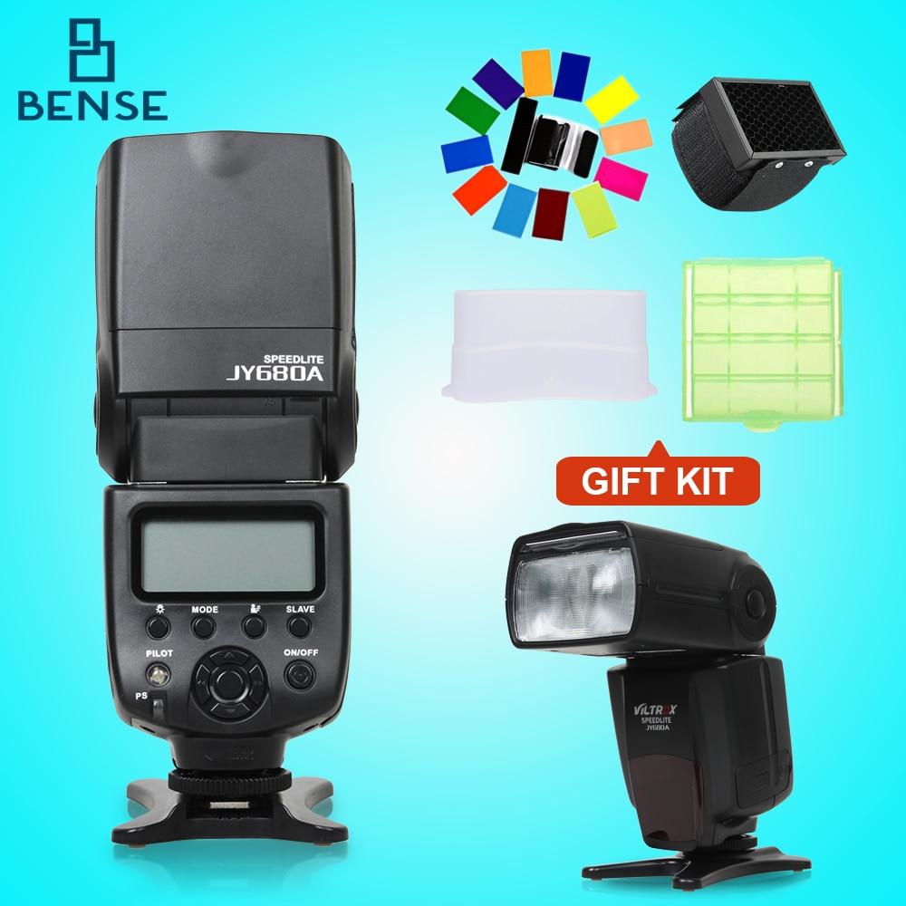 Viltrox JY 680A Universal Master Slave Flash Speedlight for Canon Nikon d7100 d3100 d90 d5300 d3200