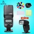 Viltrox jy-680a universal master slave flash speedlight para canon nikon d3100 d90 d7100 d5300 d3200 cámara pentax olympus dslr