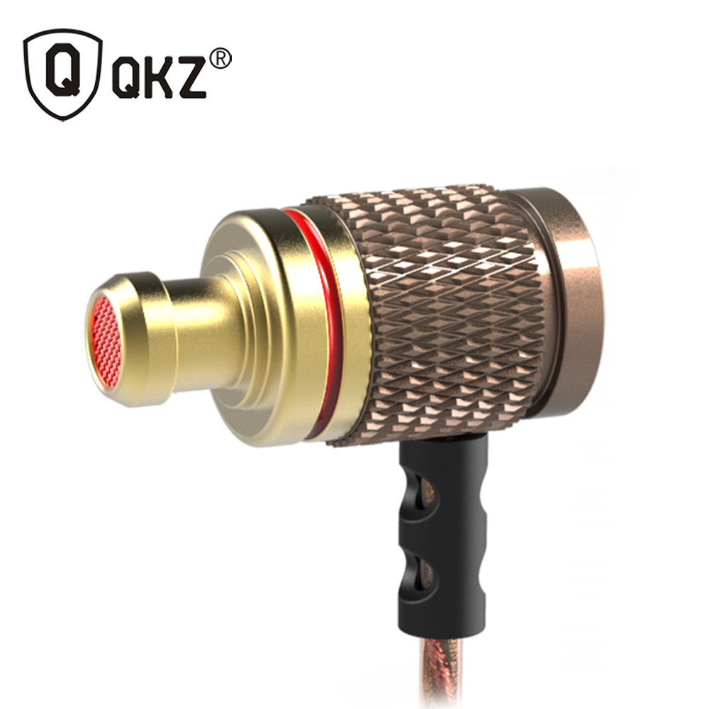 Earphone QKZ DM6 Special Edition In-Ear Earphone HIFI Headset Music Headset Phone DJ MP3 Super Bass fone de ouvido audifonos