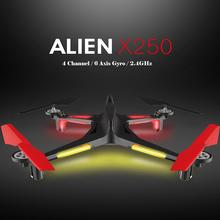 LeadingStar XK X250 RC Drone 2.4GHz 4CH 6-Axis RC Quadcopter One Key Return Headless RC Aircraft without Camera