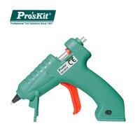 Pro'sKit GK 361U USB Charging Type Cordless Hot Glue Gun Lithium Battery Wireless Hand Glue Guns Rapid Melt Glue Home DIY Tools