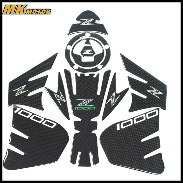 Free shipping! k-sharp Carbon 3D ADESIVI Sticker Decal Emblem Protection Tank Pad Gas Cap Fit KAWASAKI Z1000 2012-2015 kodaskin carbon 3d adesivi sticker decal emblem protection tank pad gas cap z1000 2012 2015