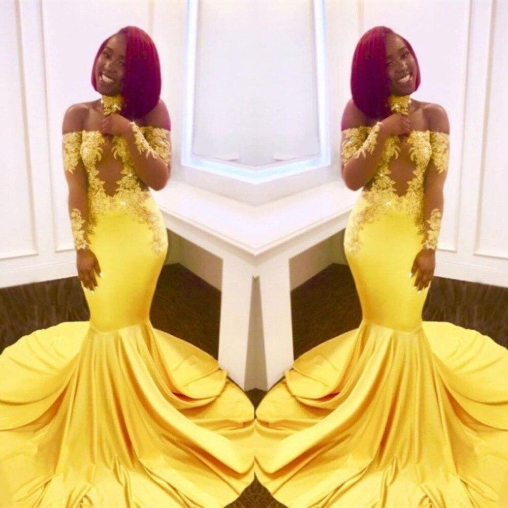 Robe de soirée pour femmes abendkleider abiye avondjurk manches longues soirée robes de soirée dentelle sirène robe de soirée longue