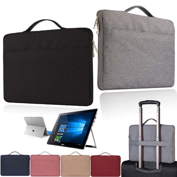 KK&LL For 10 12 13 Microsoft Surface 2/3/4/6 -  Laptop Notebook Carrying Protective Sleeve Case Bag 9 7 10 1 12 3 13 3 14 1 15 4 15 6 17 3 laptop bag tablet protective case 7 10 12 13 14 15 17 notebook liner sleeve cover ns hot9