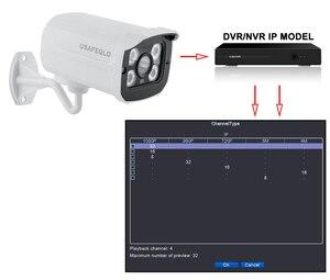 Image 4 - USAFEQLO H.264 + 2MP Bullet 1080P IP מצלמה חיצוני IR 30m HD אבטחה עמיד למים ראיית לילה P2P CCTV IP מצלמת ONVIF IR לחתוך XMEye