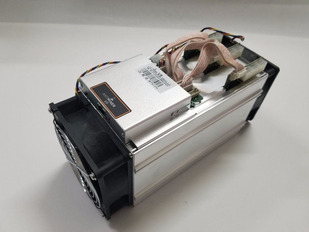 Actualizar Antminer S3 S5 S7 versión nueva BITMAIN Asic AntMiner V9 4TH/S (No PSU) bitcoin Btc minero económico que Antminer T9 + S9
