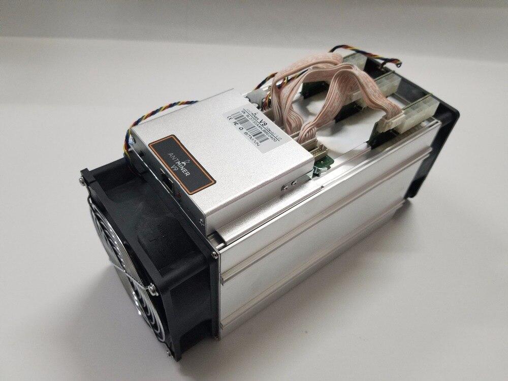 Nouveau BITMAIN Asic Antminer V9 4TH/S (pas de PSU) Bitcoin Btc Miner économique que AntMiner T9 + S9