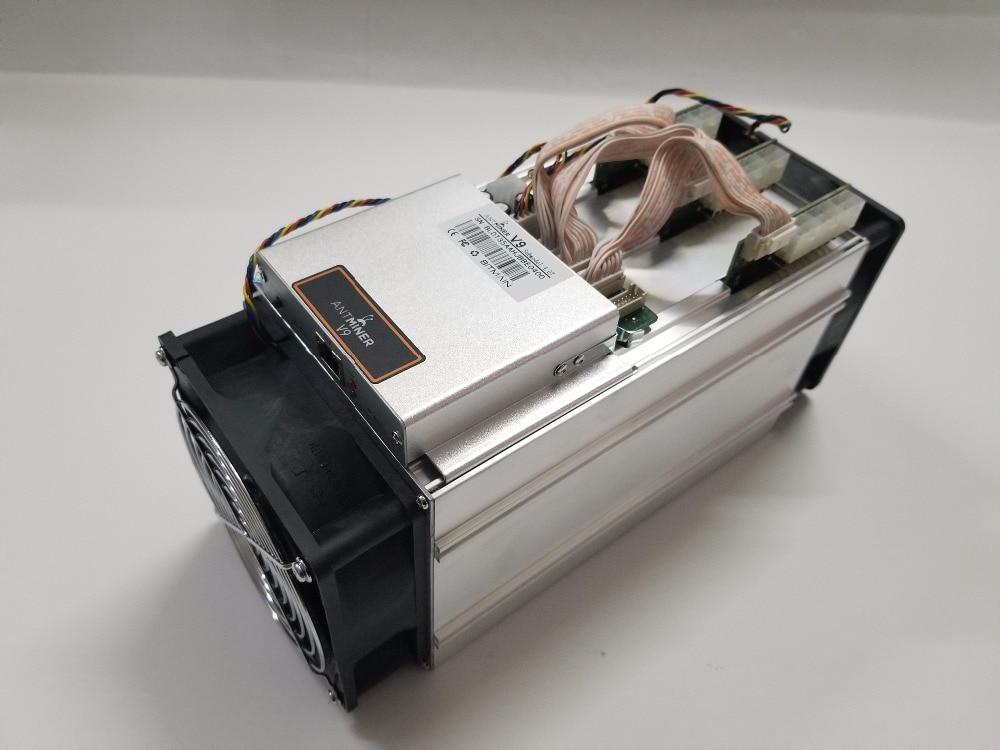 Upgrate Antminer S3 S5 S7 versión nueva BITMAIN Asic AntMiner V9 4TH/S (No PSU) Bitcoin Btc Miner económico que Antminer T9 + S9
