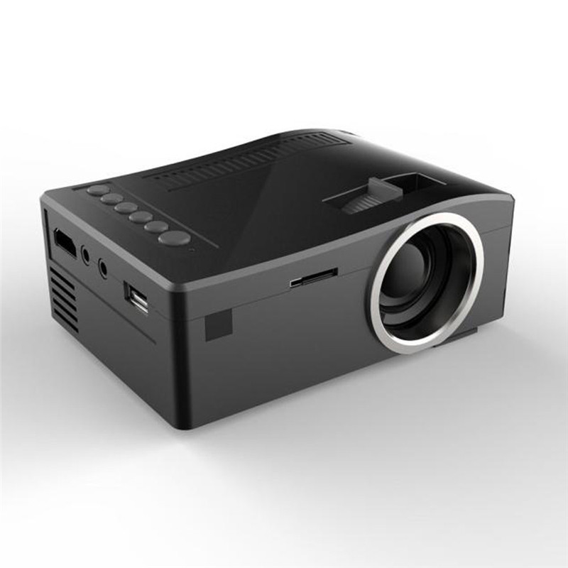 ФОТО Hot Selling 1080P HD LED Home MulitMedia Projector Theater Cinema USB TV VGA SD HDMI Mini Pico Projector Commercial beamer#Dec29